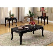 Cheshire 3-Piece Occasional Table Set (Black)