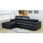 Floria Sectional (Black)