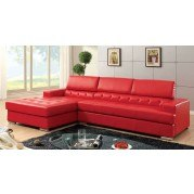 Floria Sectional (Red)