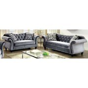 Jolanda Living Room Set (Gray)