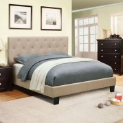 Leeroy Youth Platform Bed (Ivory)