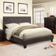 Leeroy Youth Platform Bed (Gray)