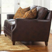Caldwell Leather Loveseat