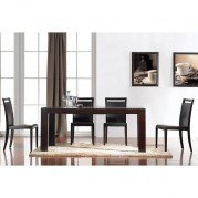 Colibri Dining Room Set w/ Modern Chairs