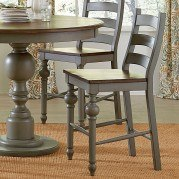 Colonnades Ladder Counter Chair (Set of 2)