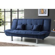 G501 Blue Sofa Bed