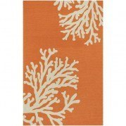 Grant Indoor-Outdoor Bough Out GD01 Orange Rug
