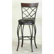 Monza 30 Inch Criss Cross Back Barstool
