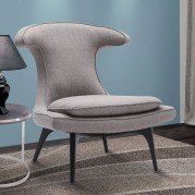 Aria Grey Accent Chair