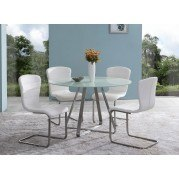 Cameo Dining Room Set (Painted Glass)