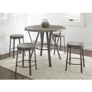 Portland Round Counter Height Dining Set