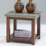 Cascade Square Lamp Table