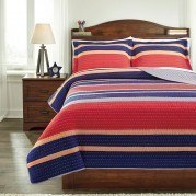 Damond Multi Youth Quilt Set