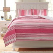 Taries Pink Youth Duvet Cover Set