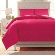 Plainfield Magenta Youth Comforter Set