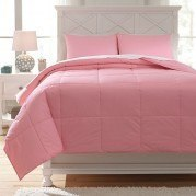 Plainfield Pink Youth Comforter Set