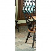 Rustic Traditions Windsor Side Chair (Two-Tone) (Set of 2)