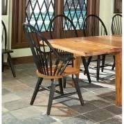 Rustic Traditions Windsor Arm Chair (Two-Tone) (Set of 2)