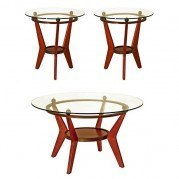 Saxony 3-Piece Occasional Table Set