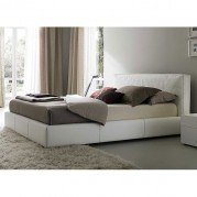 Touch Platform Bed (White)