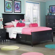 Bennett Panel Bed w/ Two Side Storages