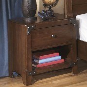 Delburne One Drawer Nightstand