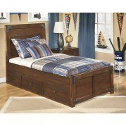 Delburne Storage Bed