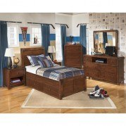 Delburne Storage Bedroom Set