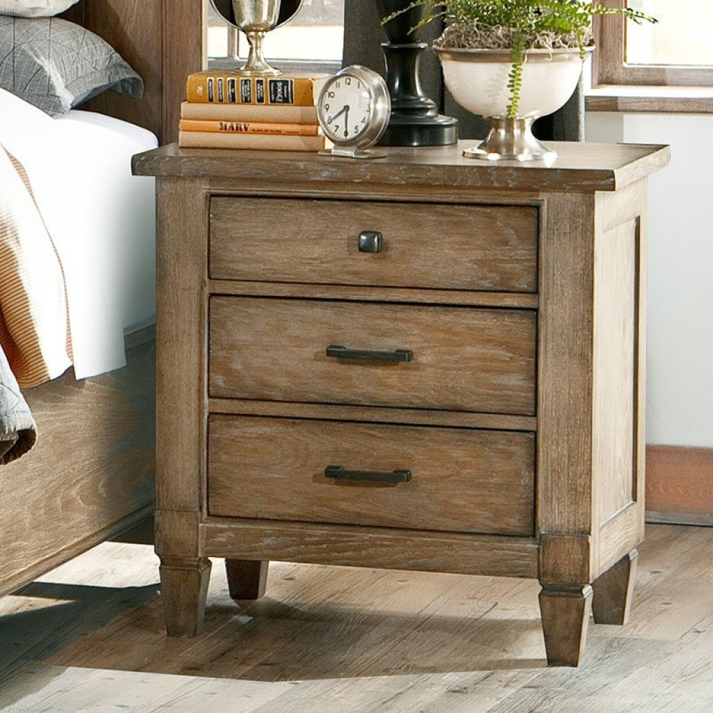 Brownstone Village Nightstand Legacy Classic Furniture Cart
