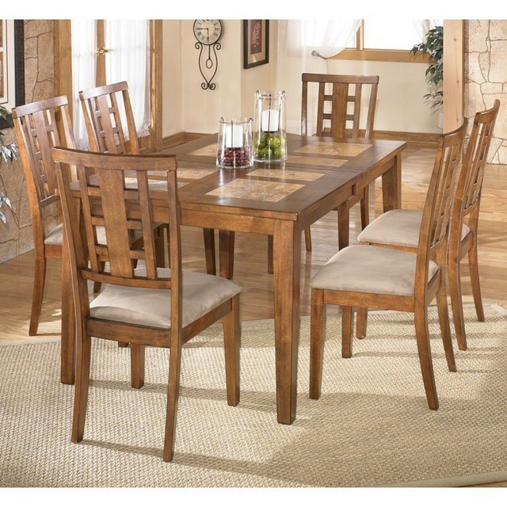 Charmant Tucker Tile Top Dining Room Set