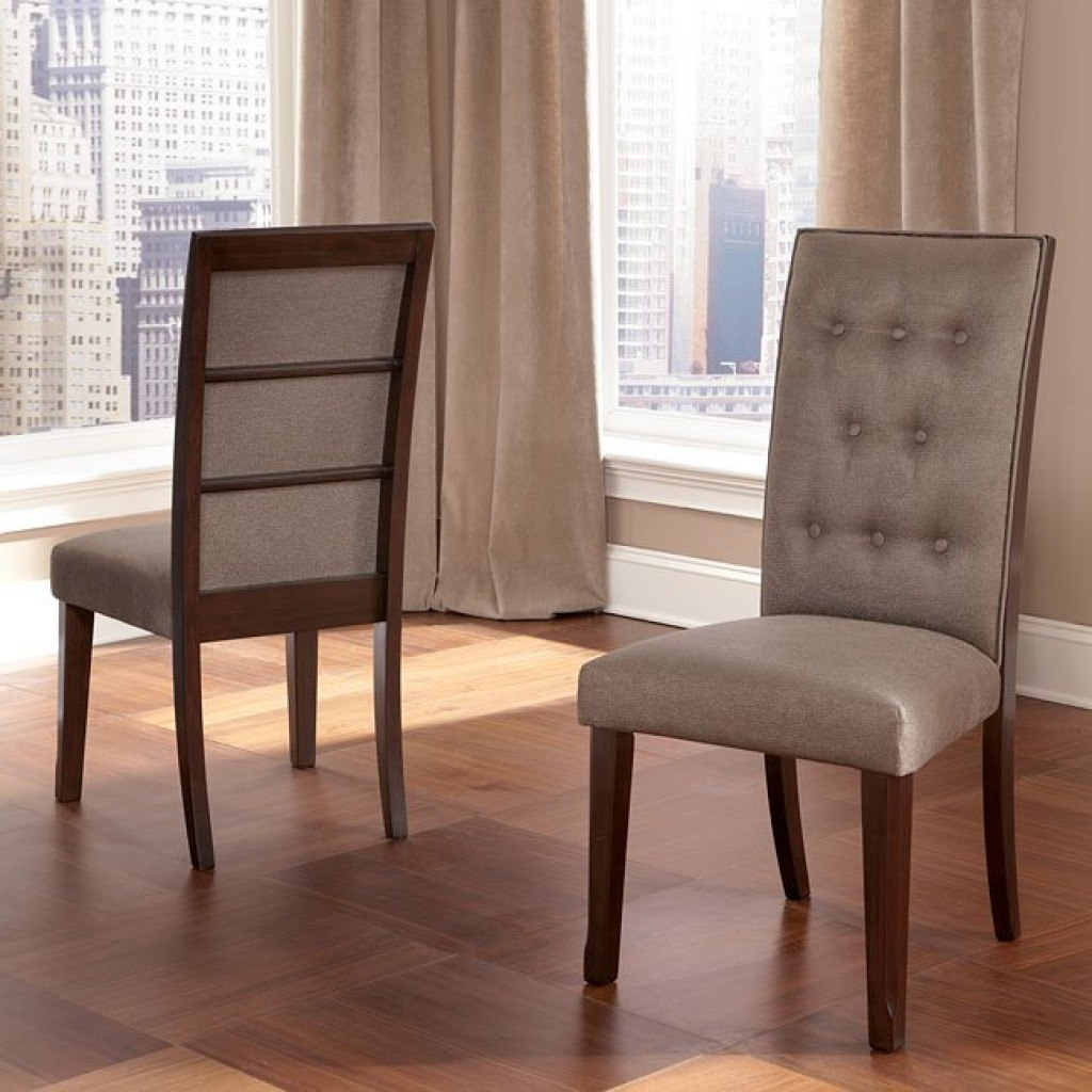 Larimer Side Chair Set Of 2 By Signature Design Extendable Dining Table