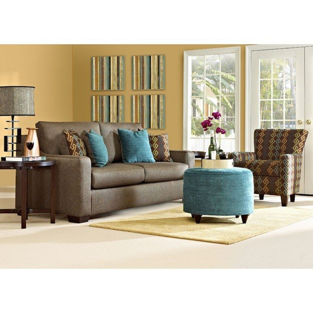 Argos Living Room Set Incline Cocoa Klaussner