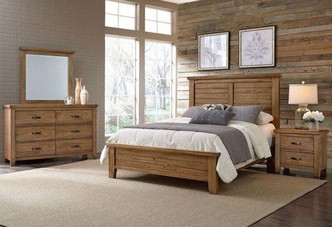 Cassell Park Panel Bedroom Set (Natural)