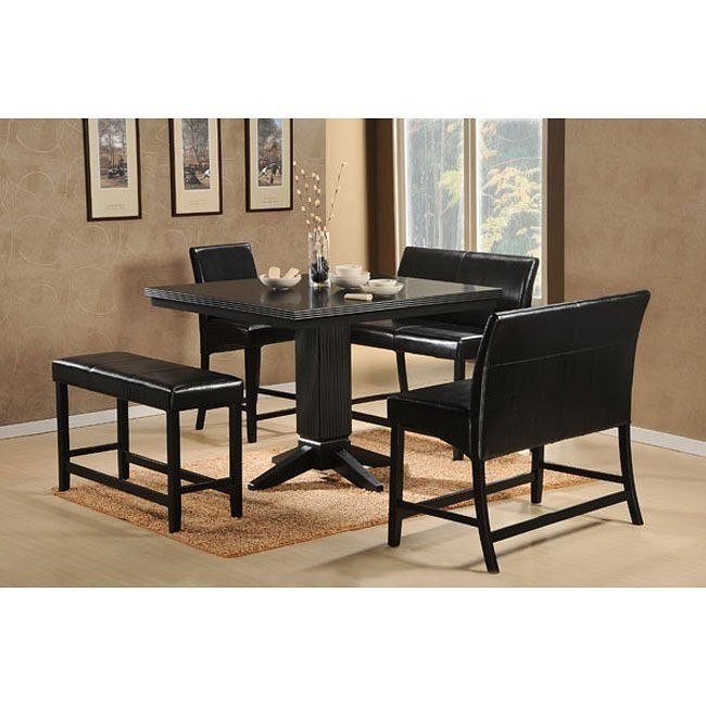Papario Counter Height Dining Room Set with 2-Seaters