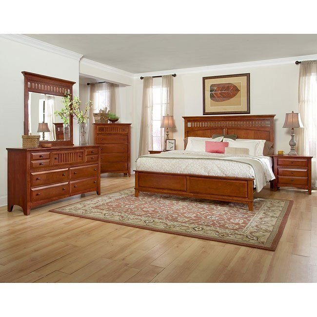 Simply Shaker Too Panel Bedroom Set