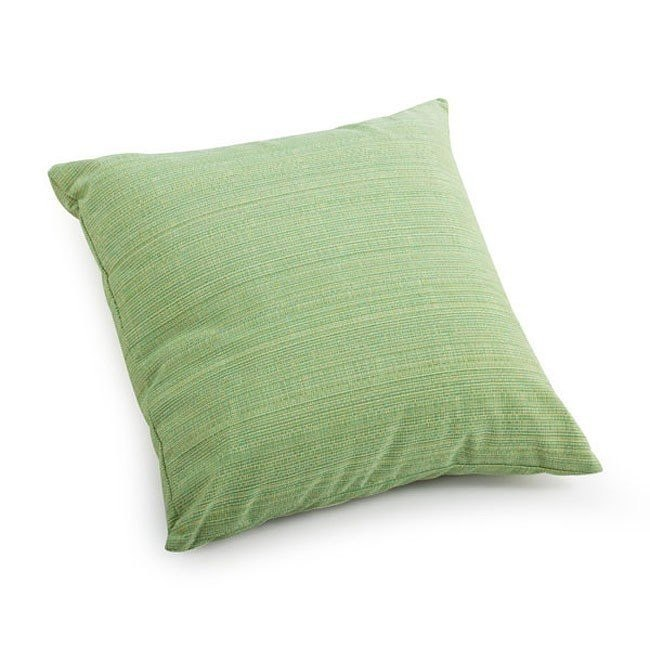 Parrot Small Outdoor Pillow (Lime Mix Thread)
