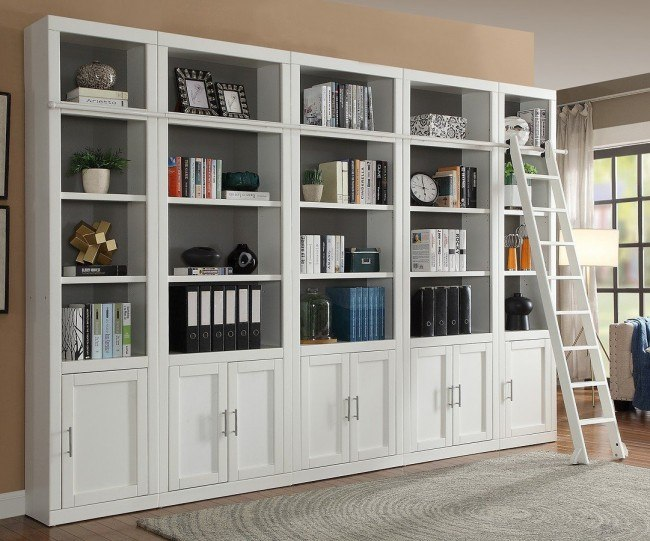 Catalina Modular Bookcase Wall