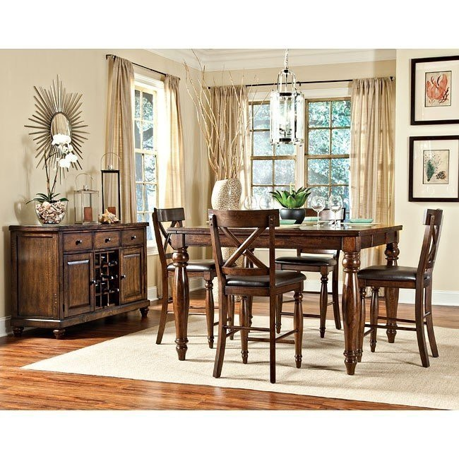Kingston Counter Height Dining Room Set