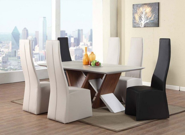 Ruby Dining Room Set w/ Chair Choices