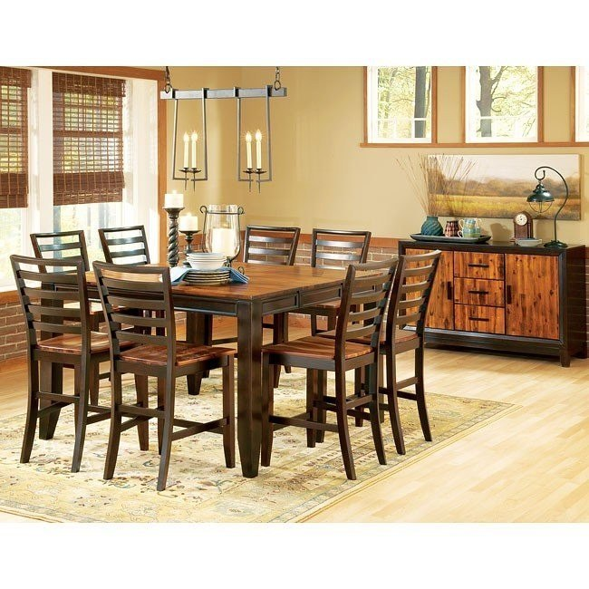Abaco Counter Height Dining Set Steve Silver Furniture Furniture Cart