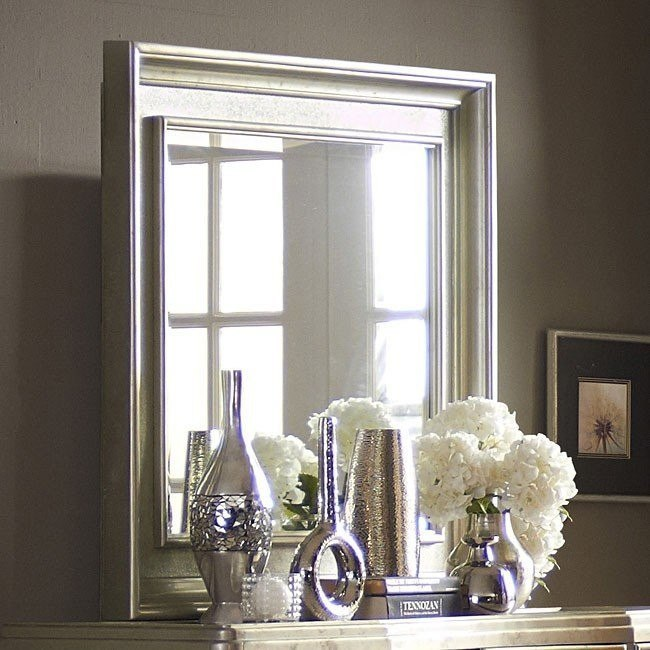 platinum landscape mirror by samuel lawrence furniture - Samuel Lawrence Furniture