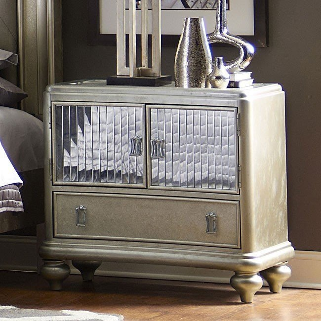 platinum nightstand by samuel lawrence furniture - Samuel Lawrence Furniture