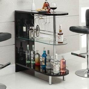 10106 Series Modern Bar Table (Black)