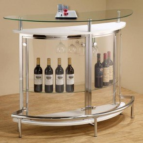 Contemporary Bar Unit (White)