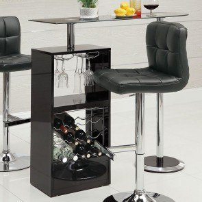 12045 Series Modern Bar Table (Black)