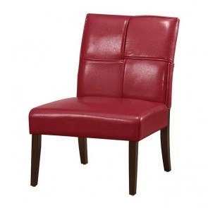 Oriana Accent Chair (Red)