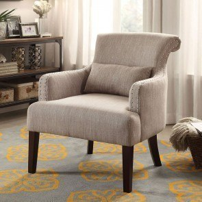 Reedley Accent Chair (Light Brown)