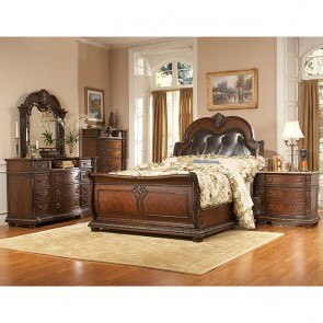 Palace Sleigh Bedroom Set