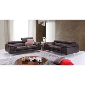A973 Leather Living Room Set (Coffee)