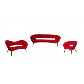 Tiffany Living Room Set (Red)